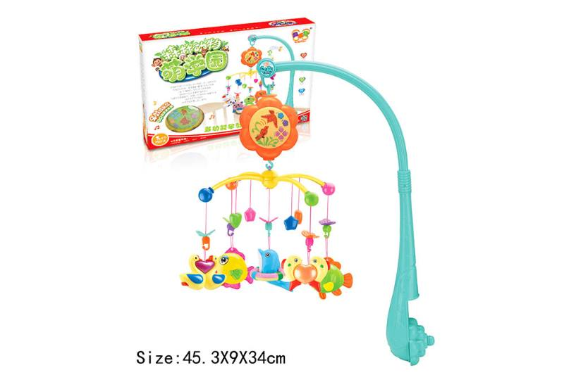 Baby Early Learning Educational Toy Series Musical Bed Bell Mobile Toys No.TA186057