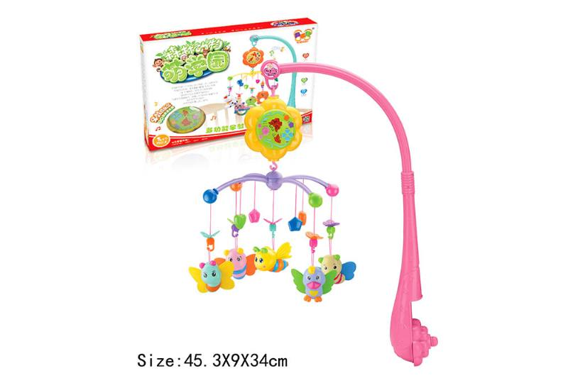 Baby Early Learning Educational Toy Series Musical Bed Bell Mobile Toys No.TA186058