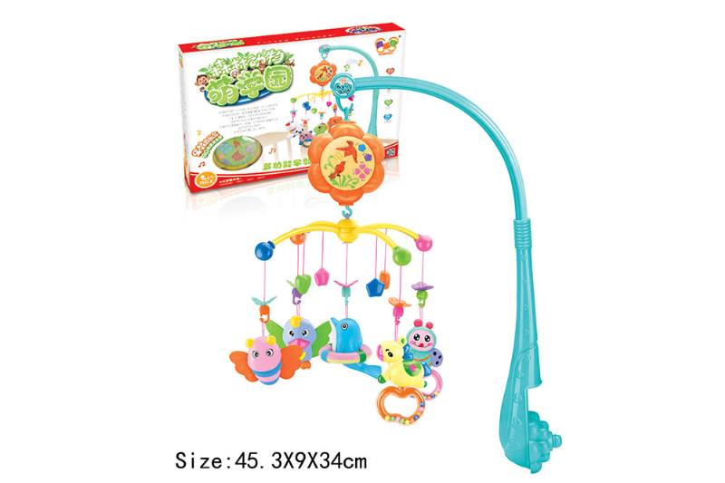 Baby Early Learning Educational Toy Series Musical Bed Bell Mobile Toys No.TA186059