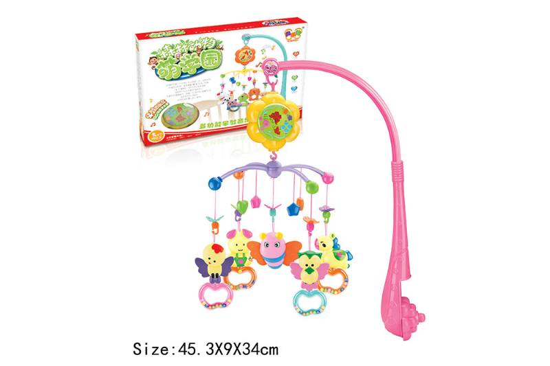 Baby Early Learning Educational Toy Series Musical Bed Bell Mobile Toys No.TA186060