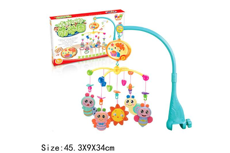 Baby Early Learning Educational Toy Series Musical Bed Bell Mobile Toys No.TA186061