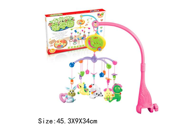 Baby Early Learning Educational Toy Series Musical Bed Bell Mobile Toys No.TA186062