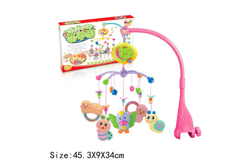 Baby Early Learning Educational Toy Series Musical Bed Bell Mobile Toys No.TA186063