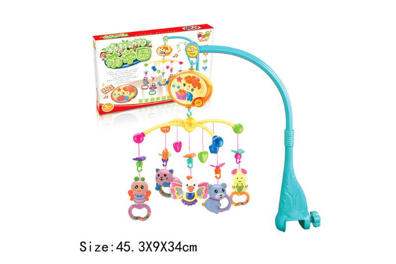 Baby Early Learning Educational Toy Series Musical Bed Bell Mobile Toys No.TA186064