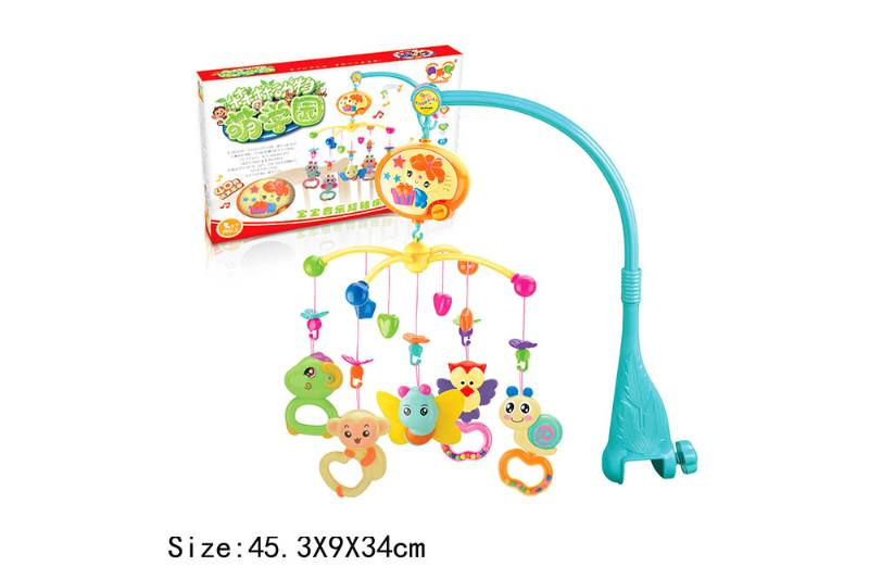 Baby Early Learning Educational Toy Series Musical Bed Bell Mobile Toys No.TA186065