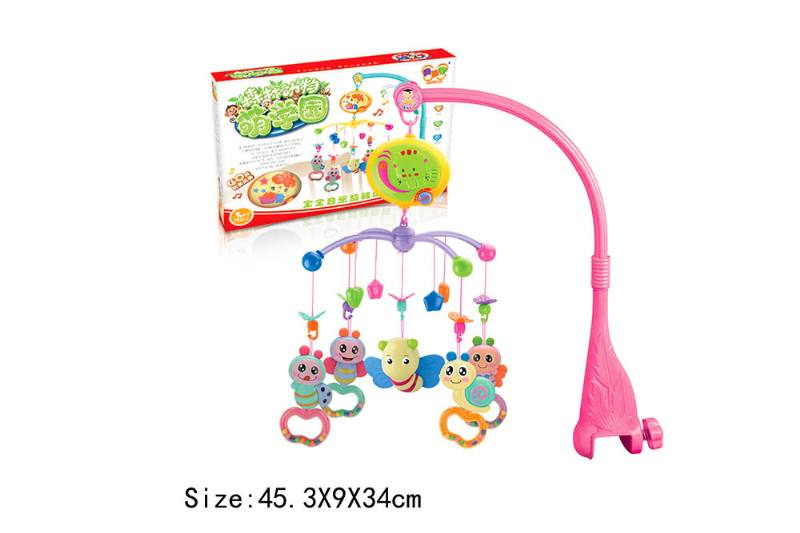 Baby Early Learning Educational Toy Series Musical Bed Bell Mobile Toys No.TA186066