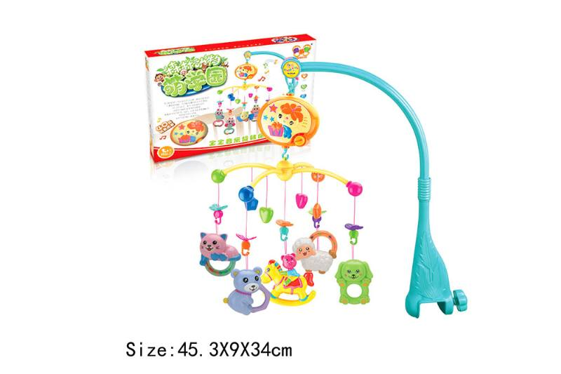 Baby Early Learning Educational Toy Series Musical Bed Bell Mobile Toys No.TA186067