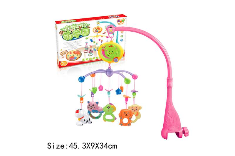 Baby Early Learning Educational Toy Series Musical Bed Bell Mobile Toys No.TA186068