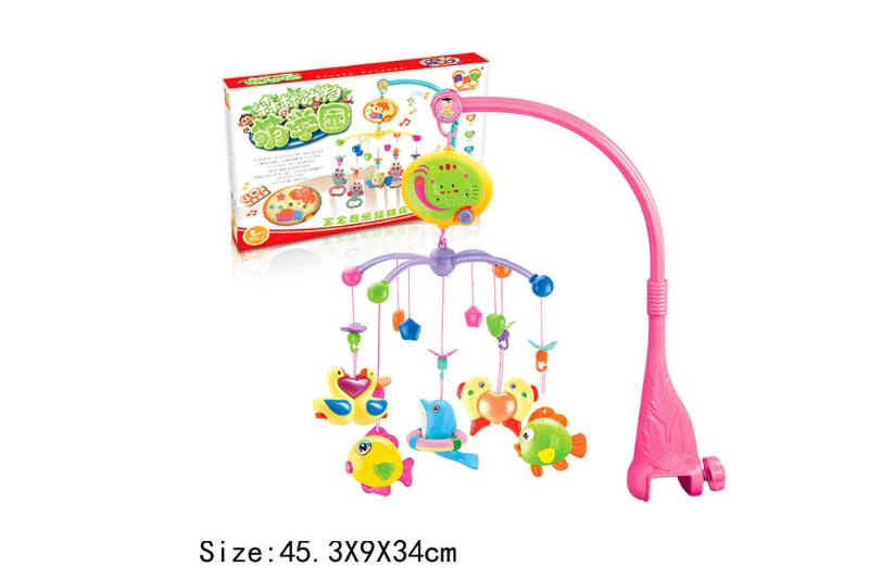Baby Early Learning Educational Toy Series Musical Bed Bell Mobile Toys No.TA186069