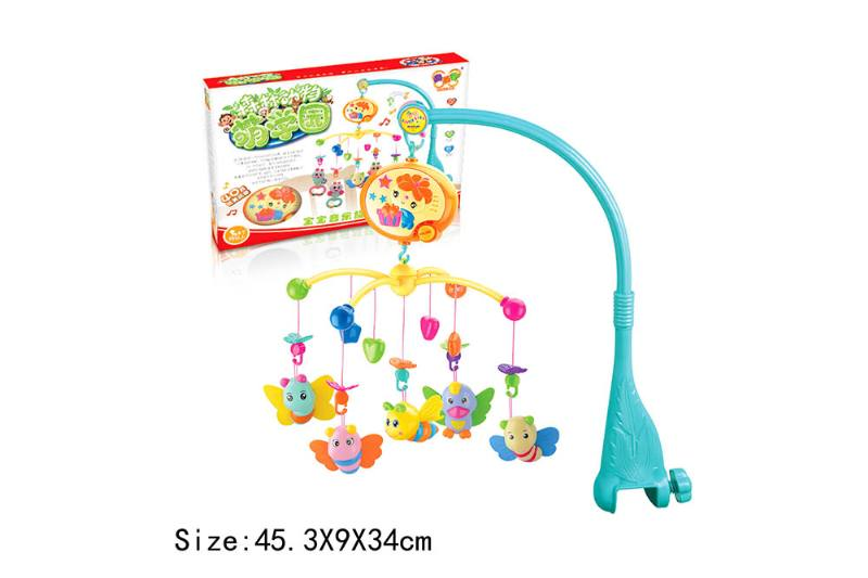 Baby Early Learning Educational Toy Series Musical Bed Bell Mobile Toys No.TA186070