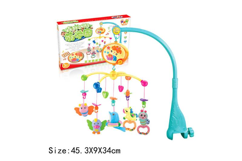 Baby Early Learning Educational Toy Series Musical Bed Bell Mobile Toys No.TA186071