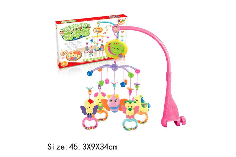 Baby Early Learning Educational Toy Series Musical Bed Bell Mobile Toys No.TA186072