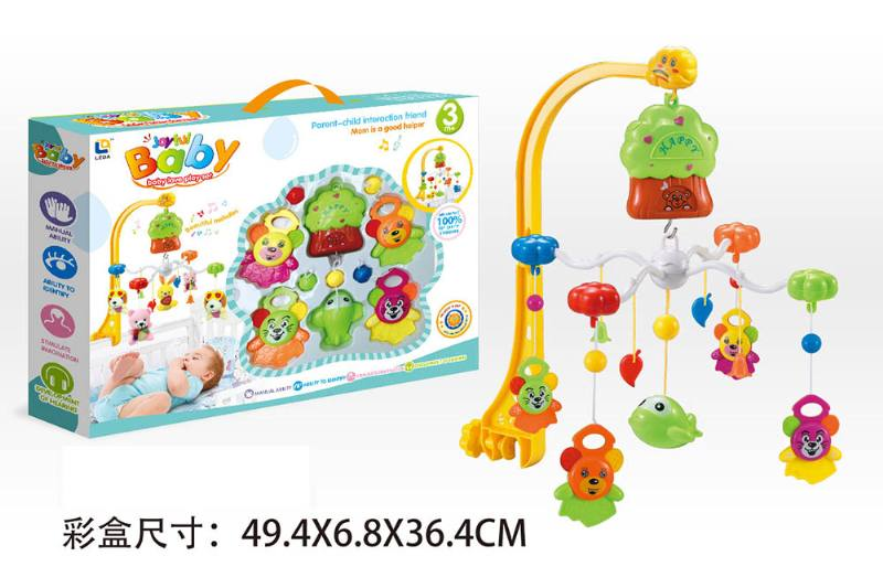 Baby Early Learning Educational Toy Series Wind Up Bed Bell Mobile Toys No.TA203911