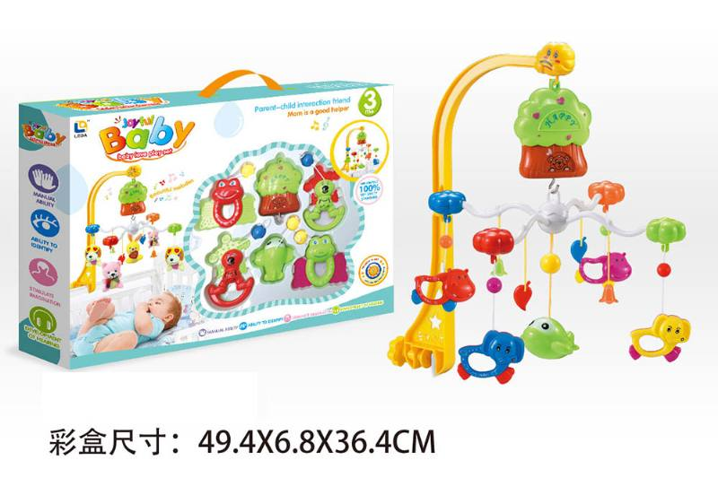 Baby Early Learning Educational Toy Series Wind Up Bed Bell Mobile Toys No.TA203912