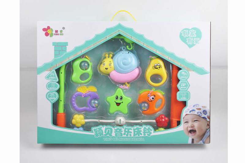 Baby Early Learning Educational Toy Series Musical Bed Bell Mobile Toys No.TA248112