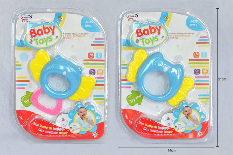 Baby rattle toy newborn baby toy owl / bird No.TA253233