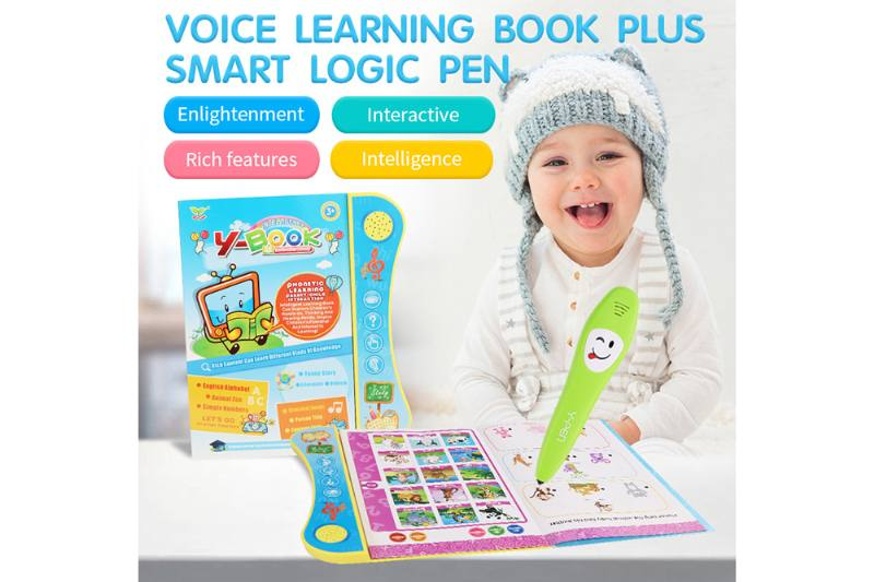 Early education intelligent reading study book (with pen) No.TA253155
