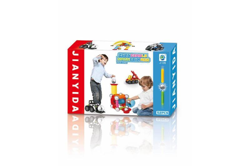 Educational toys building blocks toys magnetic bars No.TA254074