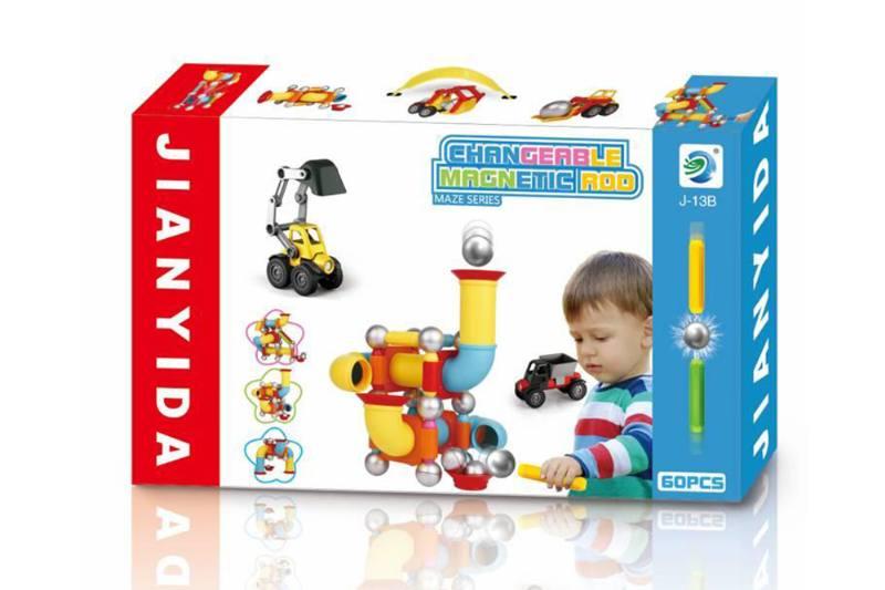 Educational toys building blocks toys magnetic bars No.TA254075