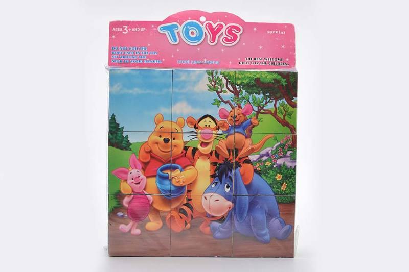 Educational Puzzle DIY Jigsaw Toys 5CM Winnie puzzle puzzle No.TA243720