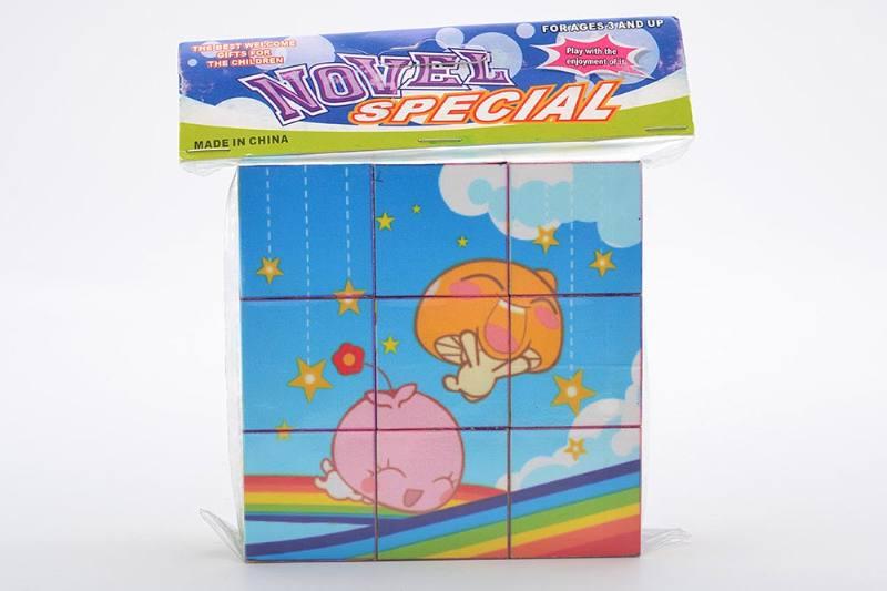 Educational Puzzle DIY Jigsaw Toys 3.5CM cartoon mushroom puzzle puzzle No.TA243724