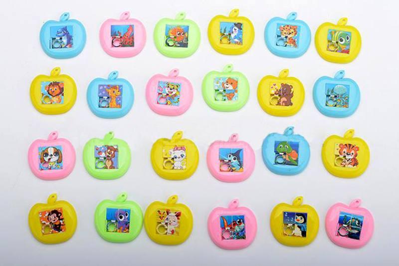 Educational Puzzle Jigsaw Toys Apple puzzle 24 4 color mix No.TA245910
