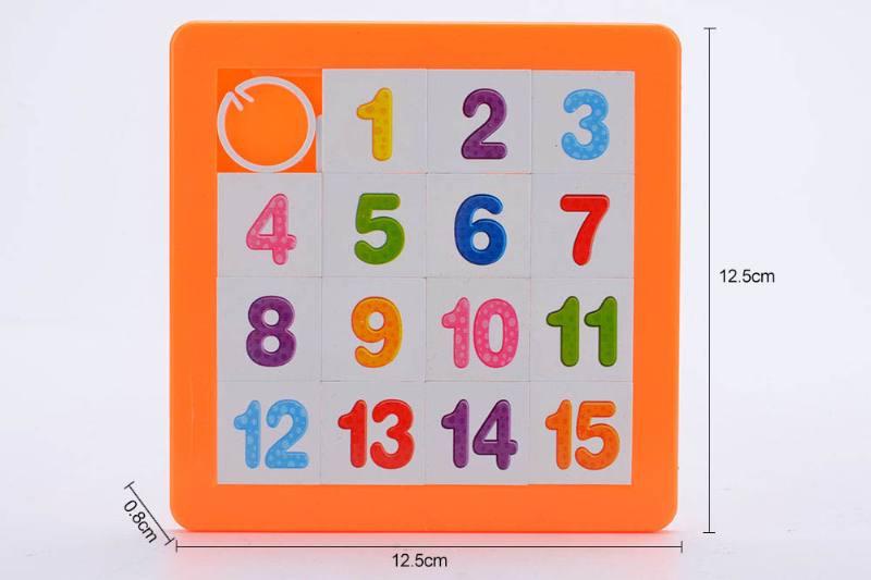 Educational Puzzle Jigsaw Toys 16 puzzle puzzle Arabia digital 4 color hybrid No.TA246433
