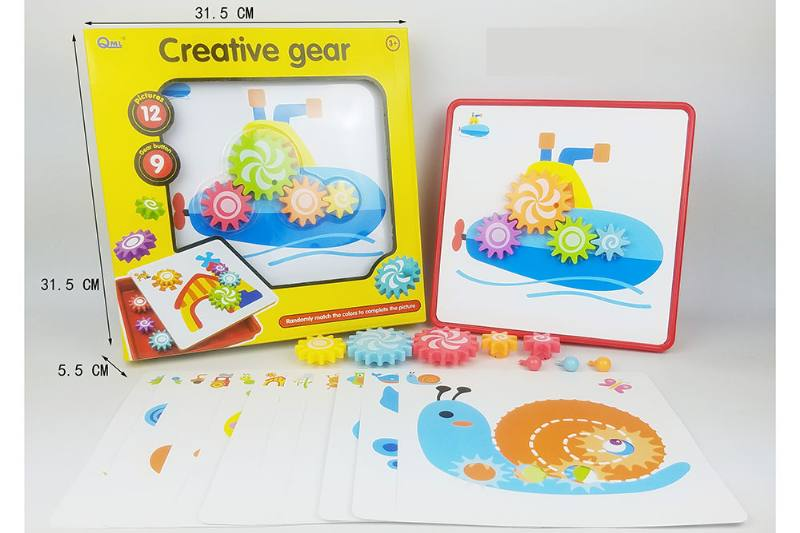 Puzzle assembling jigsaw puzzle gear puzzle No.TA252144