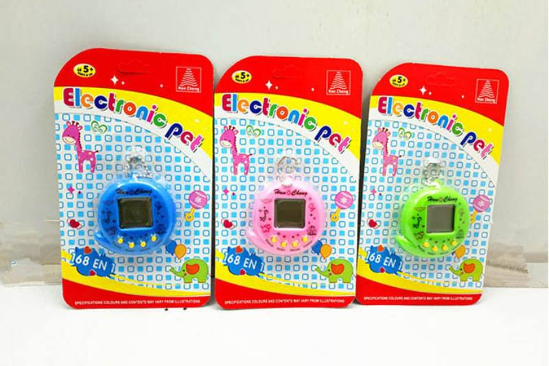 Information type electronic pet with bead chain No.TA250523