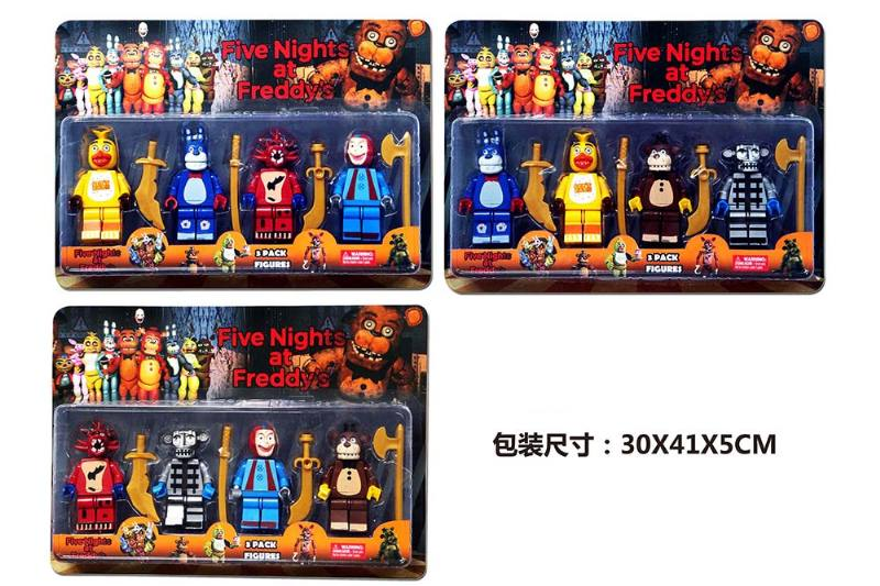 Educational self-chambering assembled toys 4.5 inch assembly midnight bear 4 weapons (3 mi No.TA247437