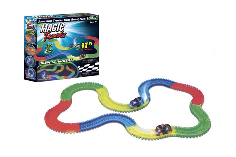 Rail car toy series 240pcs luminous track No.TA250987