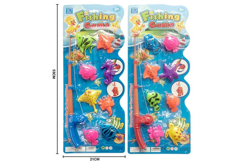 Educational toys, play beach toys, fishing two mixed No.TA253547
