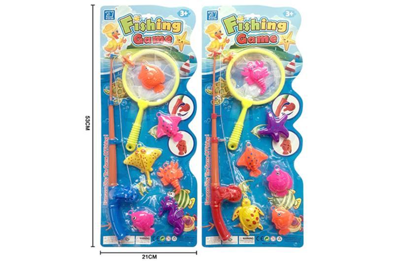 Educational toys, play beach toys, fishing two mixed No.TA253548