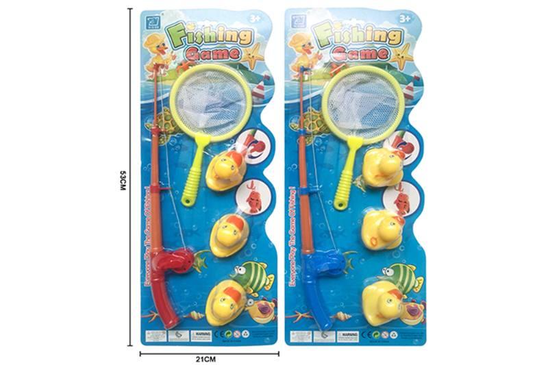 Educational toys, play beach toys, fishing ducks, two mixed No.TA253549