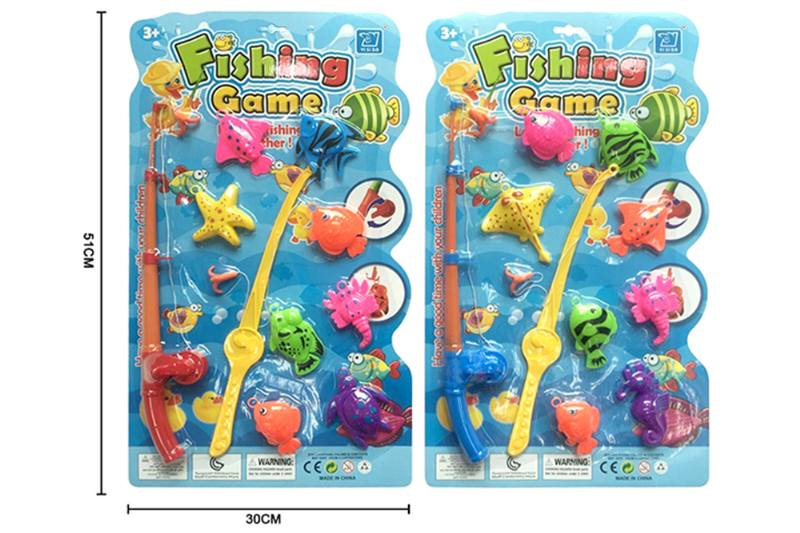 Educational toys, play beach toys, fishing two mixed No.TA253550