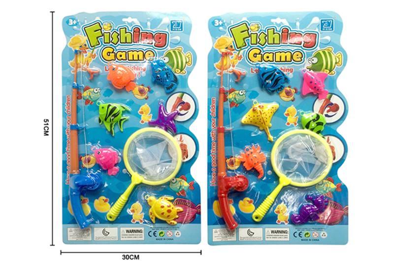 Educational toys, play beach toys, fishing two mixed No.TA253551