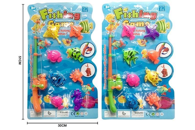 Educational toys, play beach toys, fishing two mixed No.TA253552