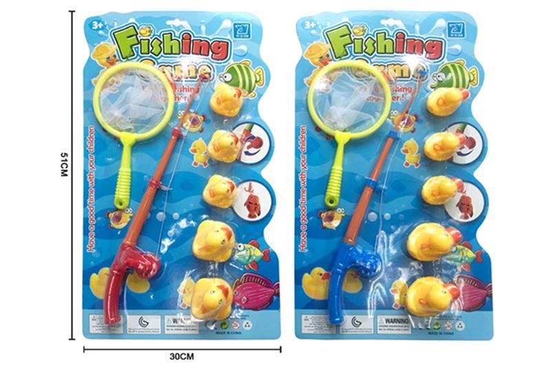 Educational toys, play beach toys, fishing ducks, two mixed No.TA253553