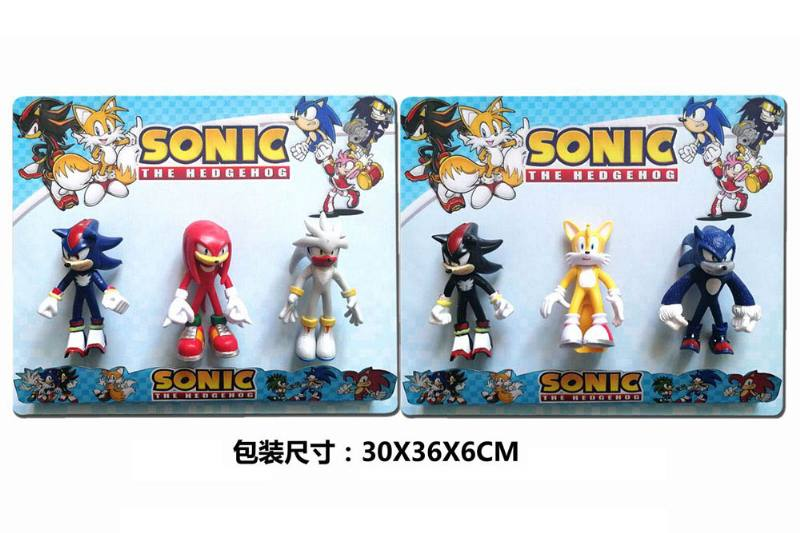 5-inch Sonic doll (light, head and foot can be active) 3 2 mixed No.TA251088