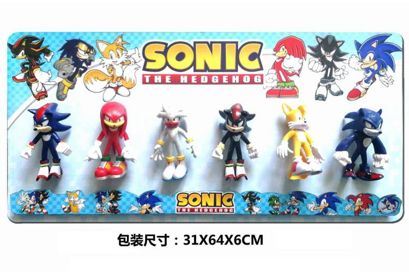 5-inch Sonic doll (light, head and foot can be active) 6 1 No.TA251090