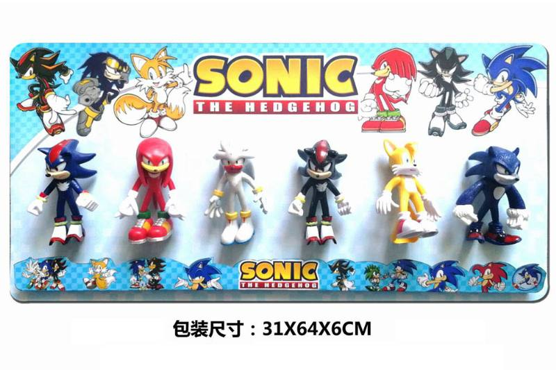 5-inch Sonic doll (head and foot can be active) 6 1 No.TA251091