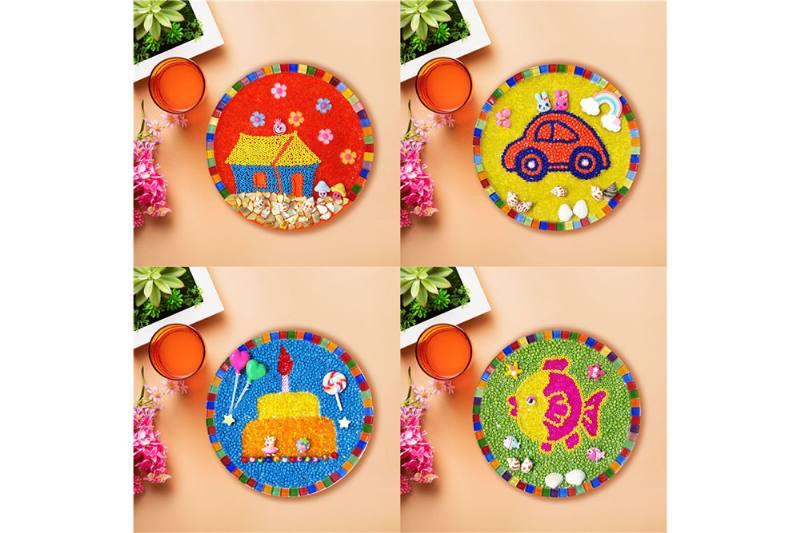 Disc series DIY bead painting No.TA251307