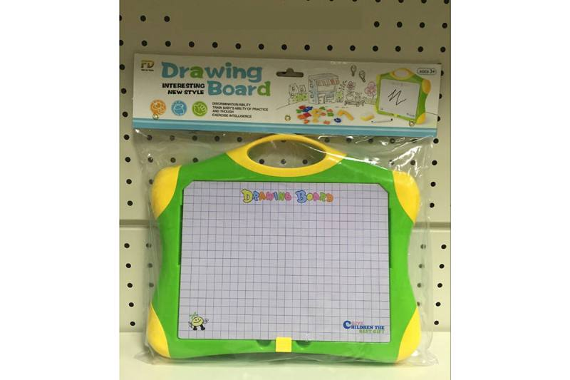 Early childhood education, teaching aids, drawing board, magnetic letter board,  No.TA251888