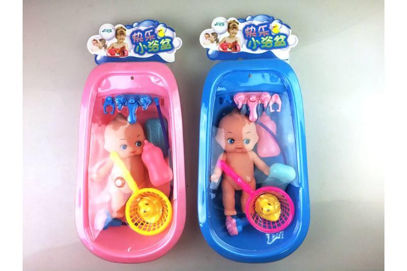 Bath toys 6-piece bath doll No.TA252091