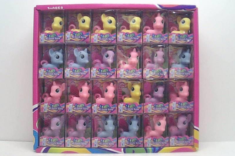 Elf Horse Toys Eggs PVC Square Box 48/Showcase No.TA254307