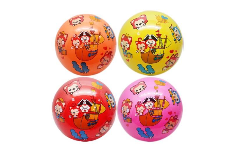 PE Sport Toys Balls 9-inch multi-standard Ali (4 colors) orange, yellow, rose, red No.TA233968