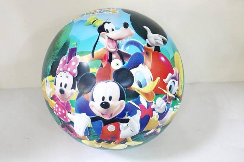 PE Sport Toys Balls 10-inch Mickey Club Ball No.TA233969