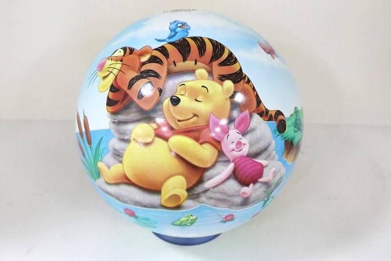PE Sport Toys Balls 10 inch Pooh Blue Ball No.TA233970