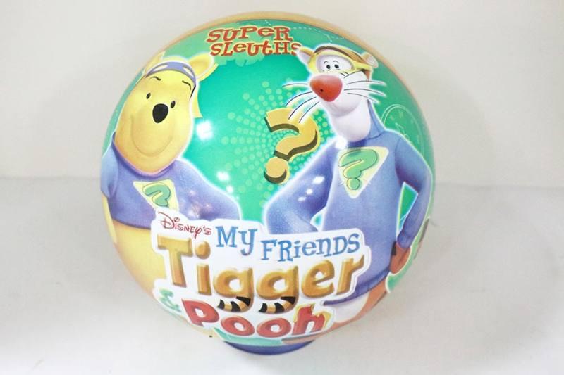 PE Sport Toys Balls 10 inch Pooh Green Ball No.TA233971