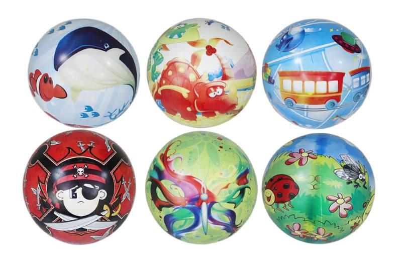 PE Sport Toys Balls 9 Inch 6 Mixed Balls No.TA233978